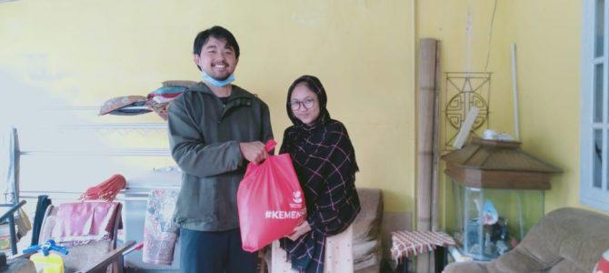 Bantuan Logistik Kementrian Sosial 2020  untuk Program Studi Bimbingan dan Konseling FIP UNJ