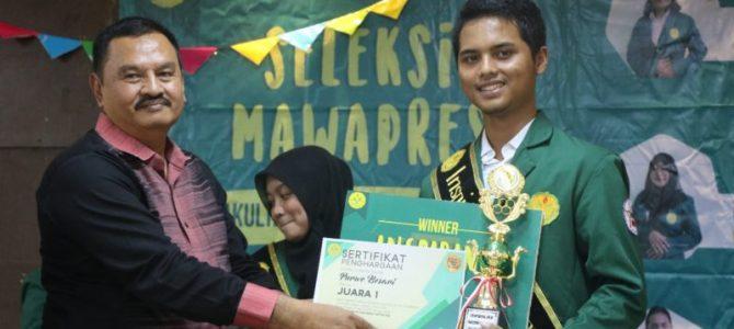 Purwo Besari, Mahasiswa Berprestasi dari Manajemen Pendidikan, Siap Bersaing Mewakili FIP di Tingkat Universitas