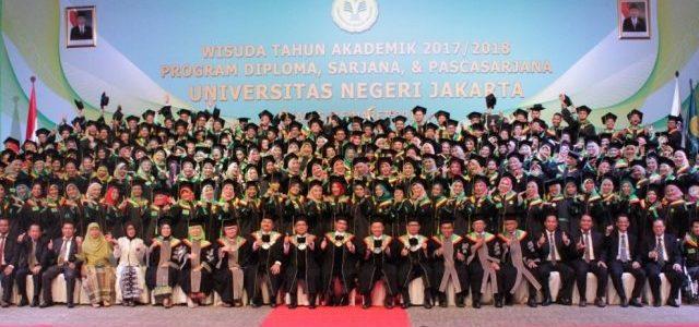 Wisuda Universitas Negeri Jakarta Semester Gasal Tahun Akademik 2017/2018