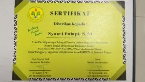 Kegiatan Pengabdian Masyarakat Dosen MP di SD Wilayah Sudin Jakarta Timur 1