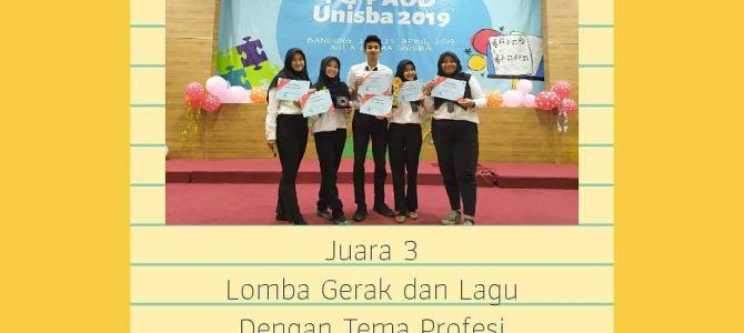 Mahasiswa PGPAUD Juara di Acara Gebyar PG PAUD UNISBA 2019