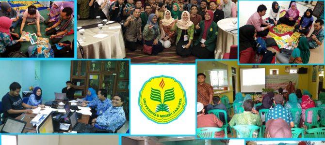 Kegiatan Temu kolegial IKAPENFI dan Kegiatan Pengabdian Masyarakat PLS FIP UNJ.