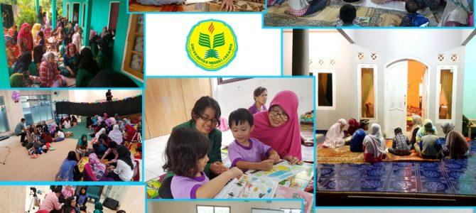 Kegiatan Praktikum Mahasiswa Pendidikan luar Sekolah di Kecamatan Sukamakmur , Kab. Bogor Jawa Barat. ( 20 Juli 2017).