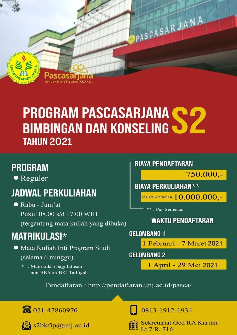Pendaftaran Mahasiswa Baru TA 2021/2022