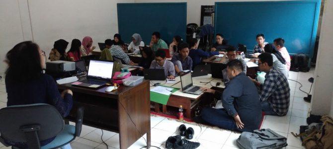 Workshop Penulisan Artikel Ilmiah bagi mahasiswa