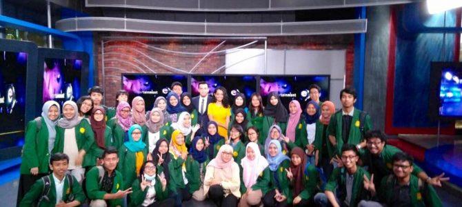 Kunjungan Mahasiswa matakuliah Manajemen Penyiaran TV ke Net MediatamA