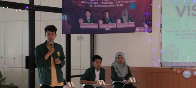 Pesta Demokrasi Teknologi Pendidikan  Fakultas Ilmu Pendidikan Univeristas Negeri Jakarta  Tahun 2019