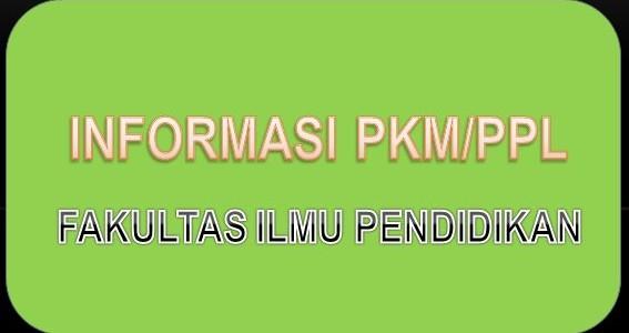 Perpanjangan Pendaftaran Mahasiswa PPL/PKM