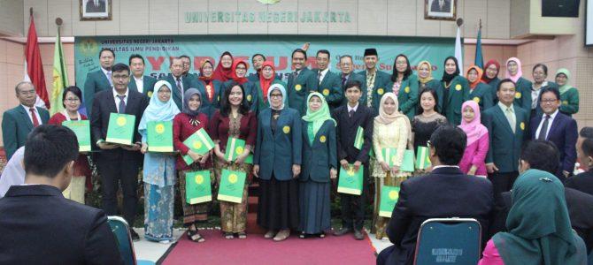 Yudisium Program Sarjana dan Magister  Fakultas Ilmu Pendidikan Universitas Negeri Jakarta Semester Genap (108) Tahun Akademik 2017/2018