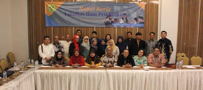 Rapat Kerja Fakultas Ilmu Pendidikan Universitas Negeri Jakarta