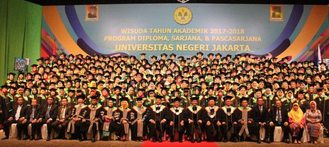 Wisuda Semester Genap Tahun Akademik 2017/2018