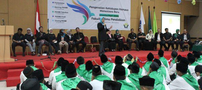 Pengenalan Kehidupan Kampus Mahasiswa Baru (PKKMB) Fakultas Ilmu Pendidikan 2018