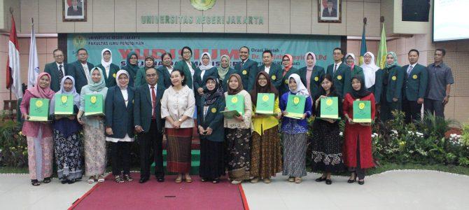 Yudisium Program Sarjana dan Magister Fakultas Ilmu Pendidikan Universitas Negeri Jakarta Semester Gasal (109) Tahun Akademik 2018/2019