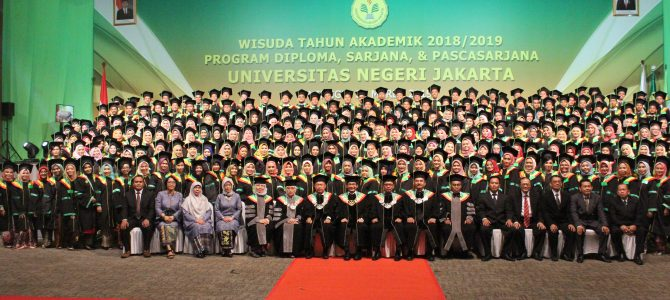 Wisuda Semester Gasal Tahun Akademik 2018/2019