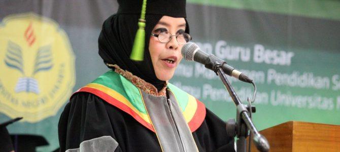 Pengukuhan Guru Besar Prof. Dr. Ir. Arita Marini, M.E.