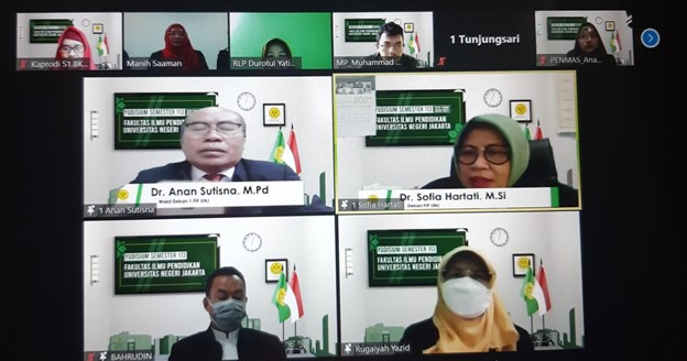 YUDISIUM VIRTUAL FAKULTAS ILMU PENDIDIKAN UNIVERSITAS NEGERI JAKARTA SEMESTER 113 TAHUN AKADEMIK 2020/2021